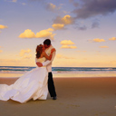 Rainbow Beach Wedding Image
